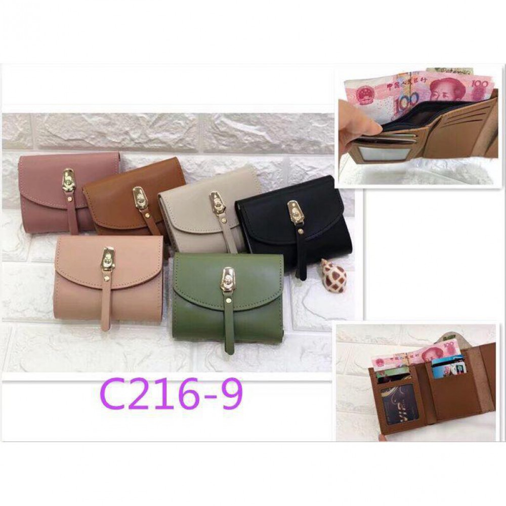 New Cutiee Trending Short Purse Fold Over Ready Stock