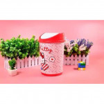 Hello Kitty White Red House Office Used Trash Bin Ready Stock