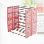 Hello Kitty Shoe Rack Multi Layer Simple Household Ready Stock