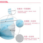 Medical 3-Layer Non Woven Mask 一次性三层无纺布口罩 50pcs
