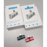 iPhone Lightning 2In1 Splitter To Charge & Use Earphones Audio Ready Stock