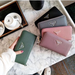 C26 New Fashion Lady Long Zip Purse Ready Stock