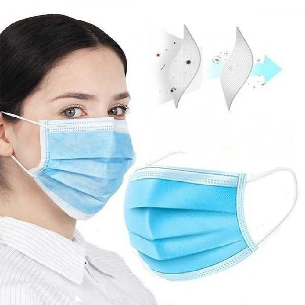 Ready Stock 3ply Face Mask Earloop With Premium Quality