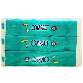 image of Cutie Compact Toilet Paper 3 x 10 Rolls ( free tissue)