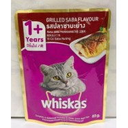 image of whiskas Grilled Saba Flavor (85g) x 24