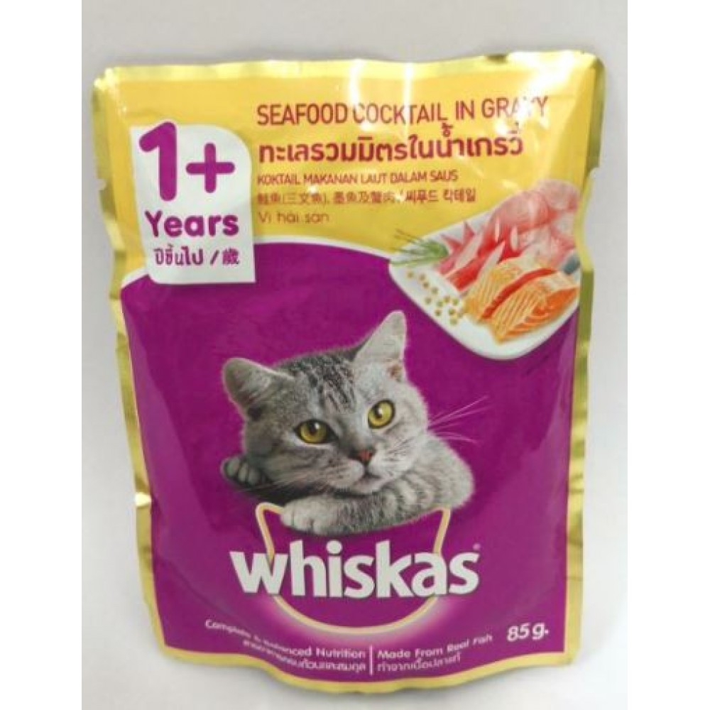 whiskas Seafood Cocktail (85g) x 24