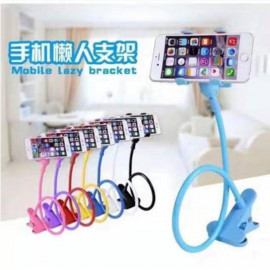 image of Buy 10 Free 1 > Long Neck Car Holder Phone Stand Ready Stock