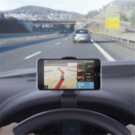 image of Dashboard 360° Degree Rotation Car Mount Phone Stand Ready Stock
