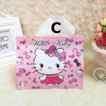 Hello Kitty PU Leather Foldable Tissue Holder Ready Stock
