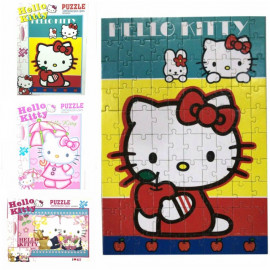 image of Hello Kitty Jigsaw Puzzle - 100pcs Ready Stock