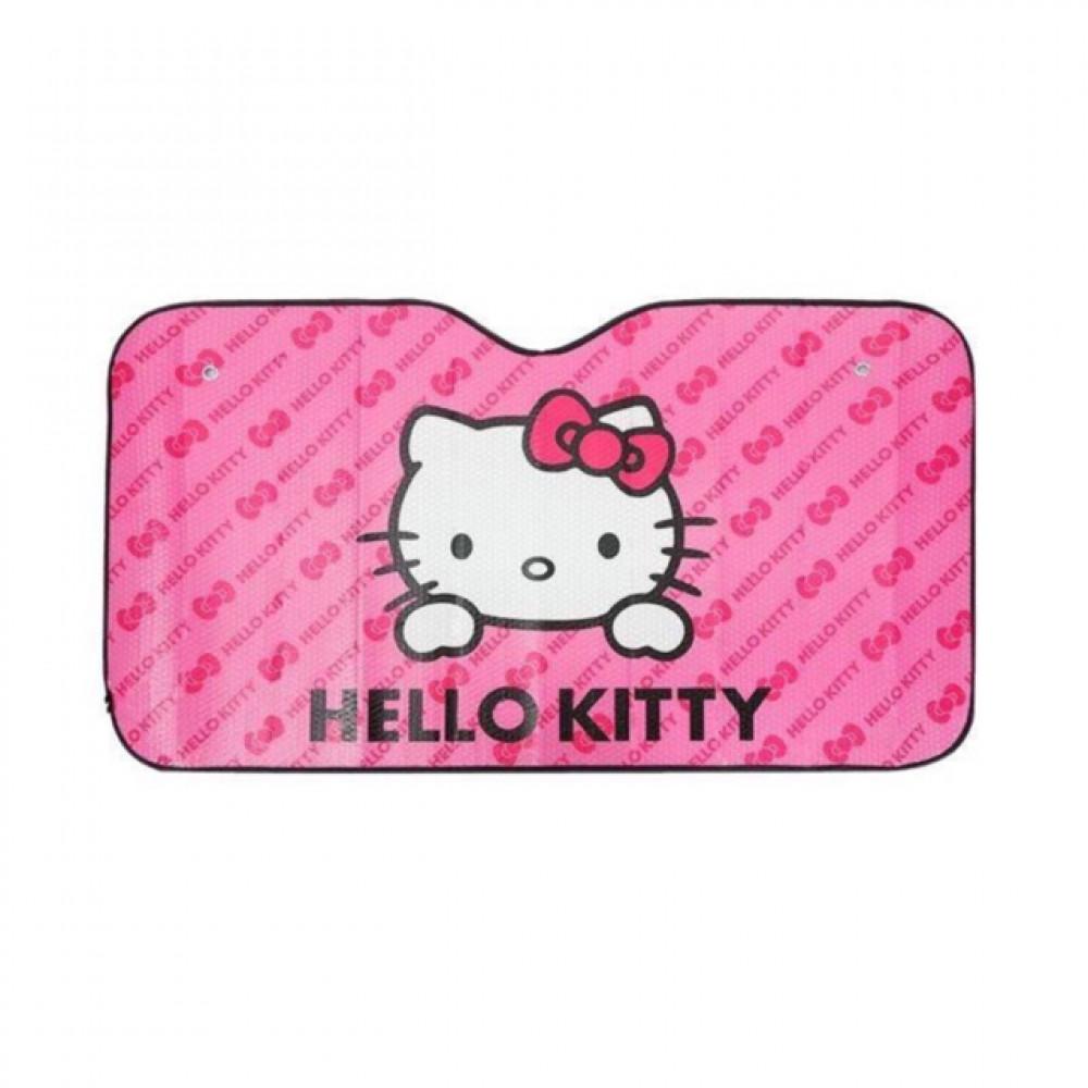 Pinky Hello Kitty Car Front Windshield Sun Shade Sun Visor Ready Stock
