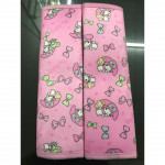 Sepasang Hello Kitty / Melody Seat Belt Cover Auto Car Accessories Ready Stock
