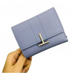 New 'T' Design Ladies Short Purse with Card Holders Ready Stock