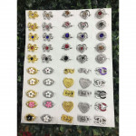 Wholesale 50pcs Randomly Mix Baby Brooch Ready Stock No Box