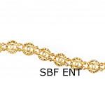 Chanel Design Guarantee 24K Quality Gelang Tangan Emas Korea Ready Stock