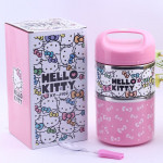 Hello Kitty Stainless Steel 2 Layer Lunch Box Ready Stock