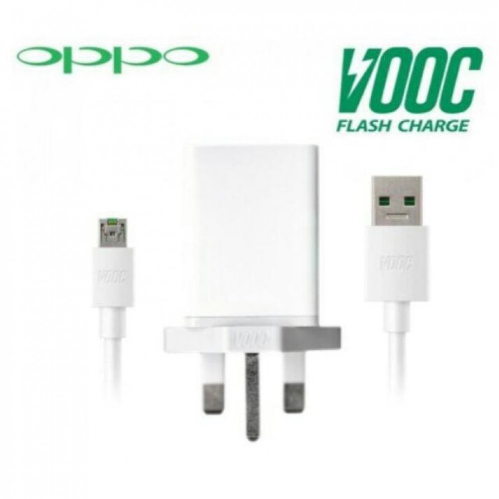 OPPO VOOC Flash Charger & Fast Charging USB Cable