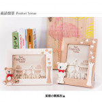 3D Bear Decorative Warm Romantic Photo Frame Ready Stock