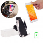 Smart Sensor Wireless Car Charger Ready Stock