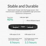 MCDODO Original MC-370 Power Bank 10000mah Universal Dual USB Port