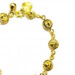 Promosi Raya - Gelang Tangan Emas/Silver Korea Aterable Ready Stock - A - Silver