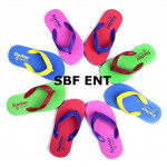 Sugar Color Sixstar Thailand Quality Rubber Anti Slip Kids Slipper Ready Stock