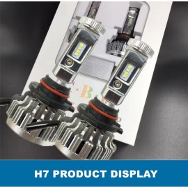 image of 2pcs CBI H7 35W Car LED Headlight