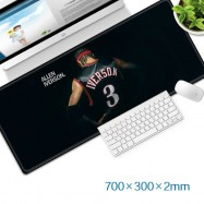 image of Allen Iverson Gaming Mat Non-slip Anti Fray Stitching Beautiful Mouse Pad