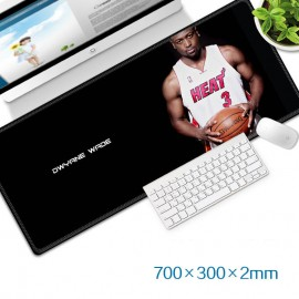image of Dwyane Wade Gaming Mat Non-slip Anti Fray Stitching Beautiful Mouse Pad