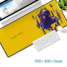 image of Shaquille O'Neal Gaming Mat Non-slip Anti Fray Stitching Beautiful Mouse Pad