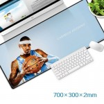 Carmelo Anthony Gaming Mat Non-slip Anti Fray Stitching Beautiful Mouse Pad