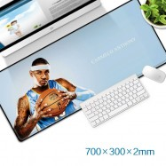 image of Carmelo Anthony Gaming Mat Non-slip Anti Fray Stitching Beautiful Mouse Pad