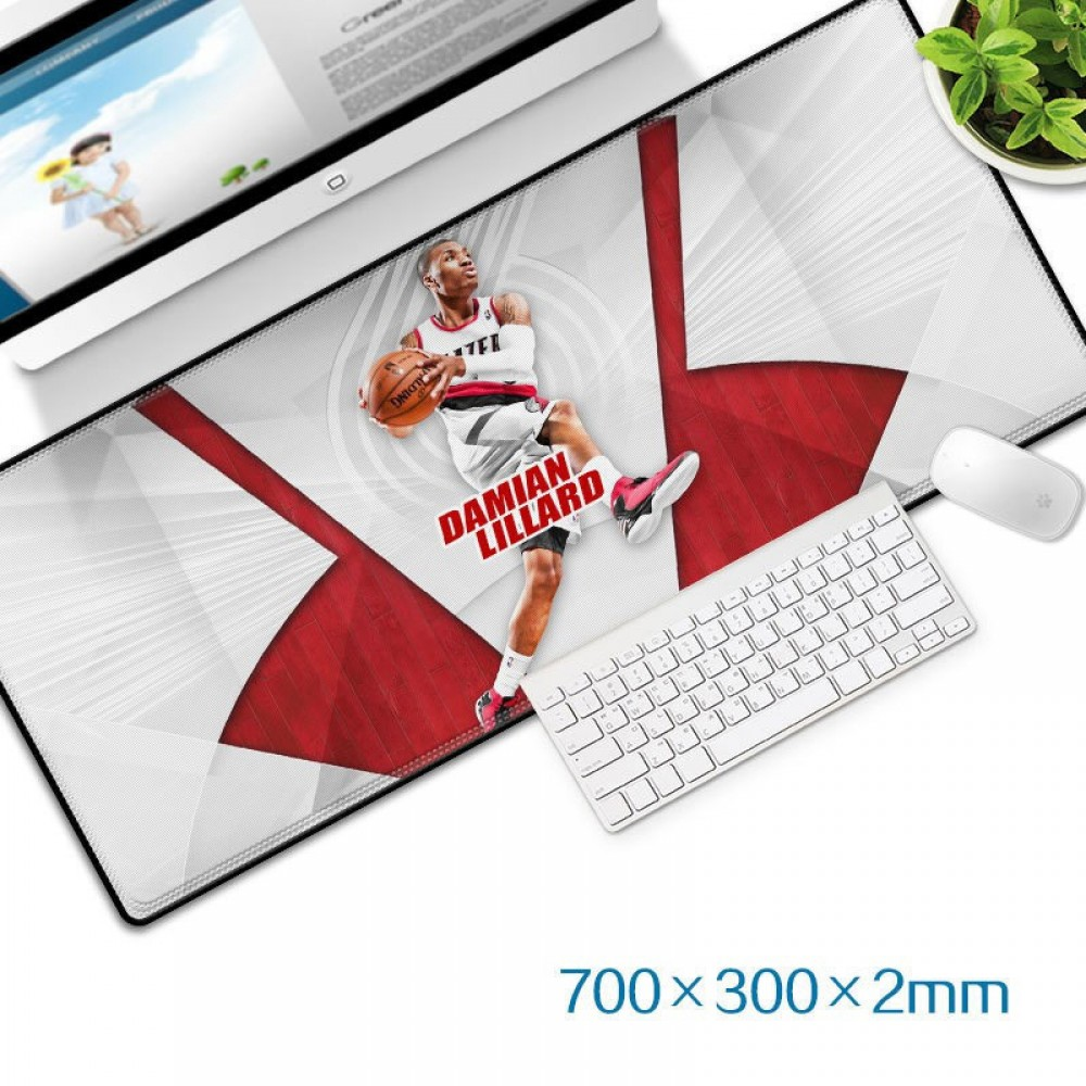 Damian Lillard Gaming Mat Non-slip Anti Fray Stitching Beautiful Mouse Pad
