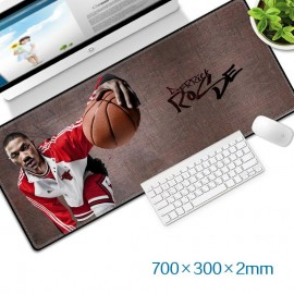image of Derrick Rose Gaming Mat Non-slip Anti Fray Stitching Beautiful Mouse Pad