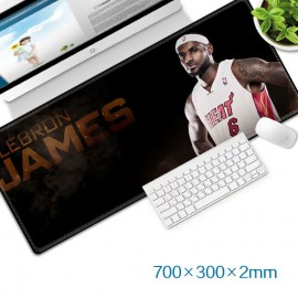 image of LeBron James Gaming Mat Non-slip Anti Fray Stitching Beautiful Mouse Pad