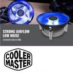 Cooler Master i70C CPU Cooler Blue LED Fan For Intel Socket 1156/1155/115 /1150