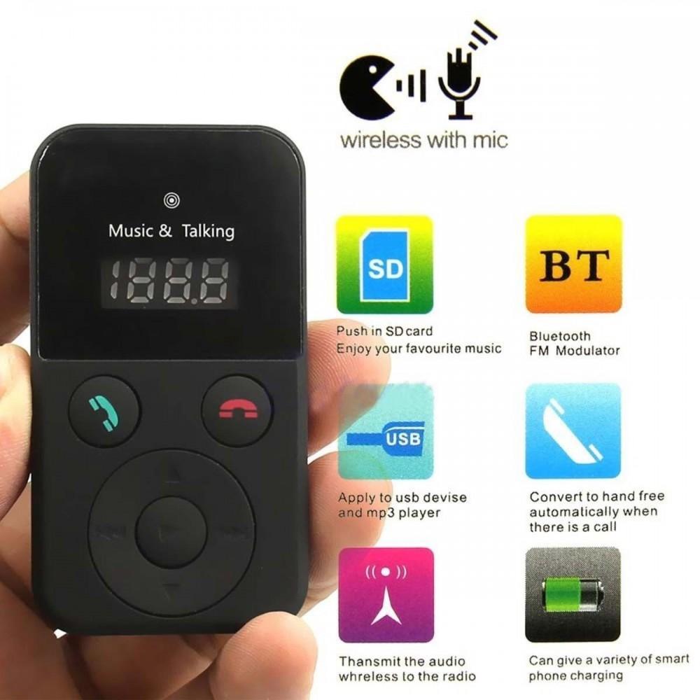 Car Kit FM Transmitter 302E Bluetooth Handsfree Modulator MP3 Player (P7-2)