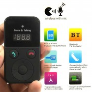 image of Car Kit FM Transmitter 302E Bluetooth Handsfree Modulator MP3 Player (P7-2)