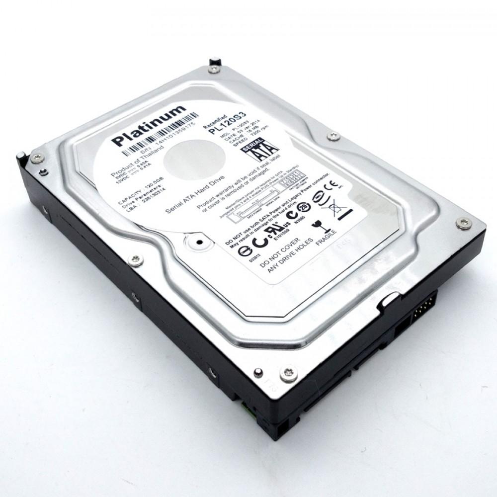 100% working 120GB Platinum 3.5' 16Mb SATA 3.5-Inch Internal Hard Drive 7200rpm