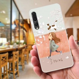 image of Huawei P20 Pro Fushion Design TPU Protective Back Case
