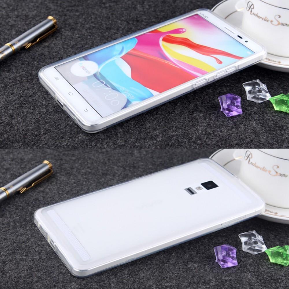 Vivo Xplay 3S Transparent TPU Silicone Soft Back Case