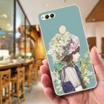 Huawei Honor 7x Fushion Design TPU Protective Back Case