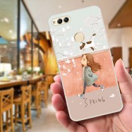 image of Huawei Honor 7x Fushion Design TPU Protective Back Case