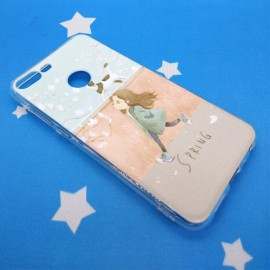 image of Huawei Honor 9 Lite  Fushion Design TPU Protective Back Case