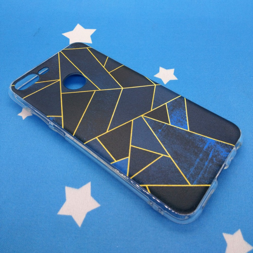 Huawei Honor 9 Lite  Fushion Design TPU Protective Back Case
