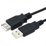 image of 1.5M High Speed USB 2.0 Male To Female Extension Cable