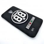 Vivo Y21 / Y25 Logo 3D Silicone Soft Back Case