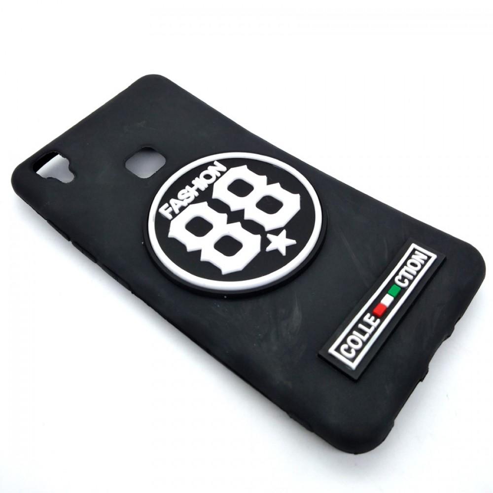 Vivo V3 Logo 3D Silicone Soft Back Case