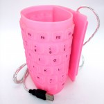 85 Keys USB Silicone Rubber Flexible Foldable Keyboard For Laptop Notebook PC