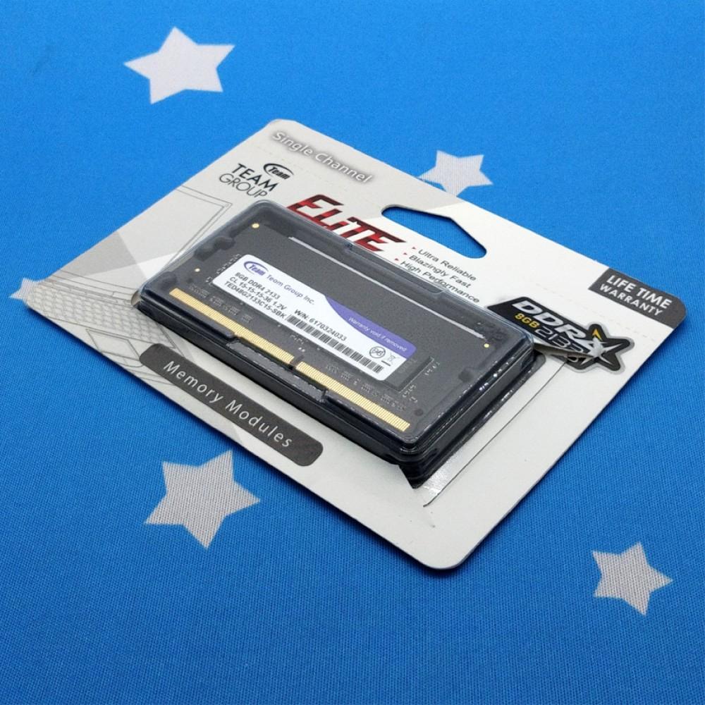 Team Group Elite TED48G2133C-15SBK 8GB DDR4 2133Mhz Laptop Memory Ram(T12-11-10)